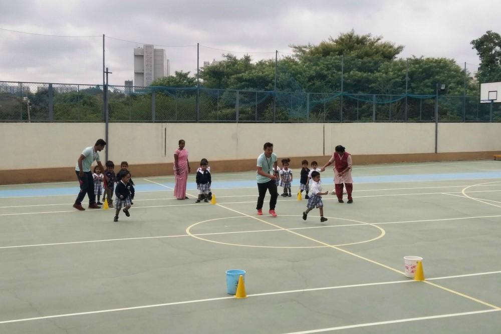 Pre-KG outdoor play.